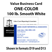 Pengad court reporter supplies legal supplies court reporting one color smooth white value business cards colourmoves