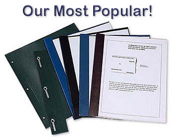 A6 Transcript Covers - Our most popular!